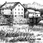 Cannon City,MN Flour Mill Scotts by Jeff Jarvis