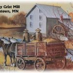 Morristown, MN Grist Mill by Jeff Jarvis